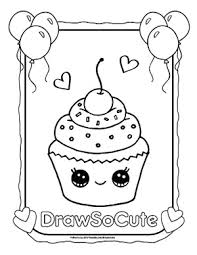 Coloring Pages Draw So Cute Cut Coloring Pages