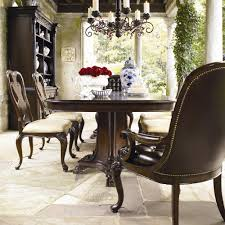 Thomasville Dining Room Table And Chairs by Thomasville Brompton Hall 7 Piece Double Pedestal Dining Table