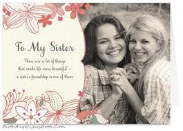 greeting cards for sister online purchase