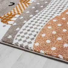 tapis pour chambre tapis pour chambre enfants fille beige