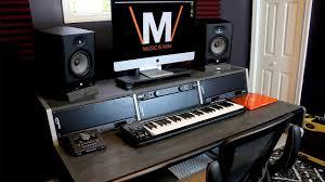home studio workstation desk the ultimate home studio desk youtube