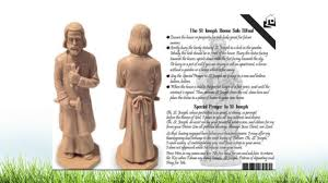 the saint joseph house selling statue unboxing video youtube
