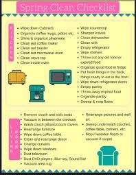 spring clean checklist u0026 free printable u2013 coffee time with him