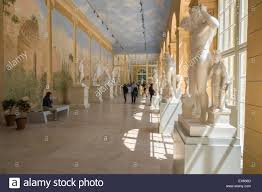 interior murals stock photos interior murals stock images alamy interior of the old orangery featuring statues and painted wall murals lazienki park