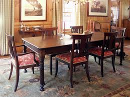 incredible decoration mahogany dining table gorgeous inlaid double