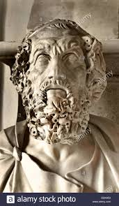 Homer Homer Greek Epic Poet Stock Photo Royalty Free Image 31602029