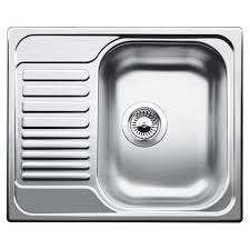 Blanco Livit  S Compact Stainless Steel Kitchen Sink - Compact kitchen sinks stainless steel