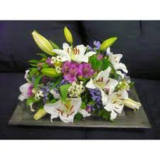 cemetery flowers cemetery flower arrangement exclusive plastic tray model 418
