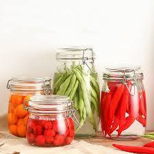 Glass Kitchen Canisters Compare Prices On Clear Glass Kitchen Canisters Online Shopping