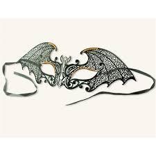 gothic bat filigree masquerade mask halloween masquerade ball mask