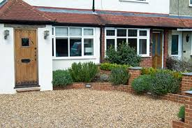 front gardens permeable paving rhs gardening