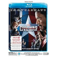 what blurays are on sale at target black friday 2016 marvel u0027s captain america civil war target exclusive blu ray