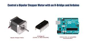 Stepper Motor Driver Wiring Diagram Bipolar Stepper Motor Control With An Arduino And H Bridge Youtube