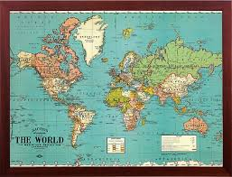 Map Of The World Poster by Amazon Com Push Pin Map World Map Decorative Vintage Parchment