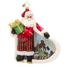 107 best christopher radko destination state ornaments images on