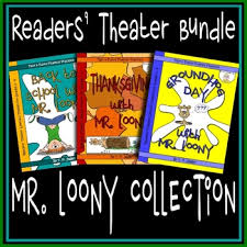 back to school thanksgiving groundhog day readers theater mr