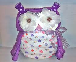 purple owl baby shower decorations purple owl cake name embroidered on the by ceejaze on zibbet
