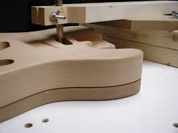 making a routing template from a lacquered body telecaster