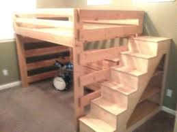 Bunk Bed With Stair Bunk Bed With Staircase Image Of Bunk Beds With Stairs And Carpet