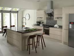 Modern Kitchen Island Glass Modern Kitchen Decoration Using Tripod Solid Walnut Wood Modern