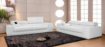 canape cuir blanc canapés en cuir italien 3 2 1 places