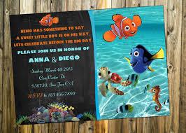 nemo baby shower finding nemo baby shower invitation finding by printablestoyou