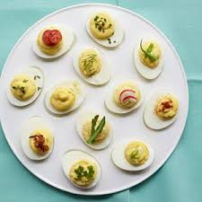 deviled egg dish easy deviled eggs recipe egg recipes at womansday