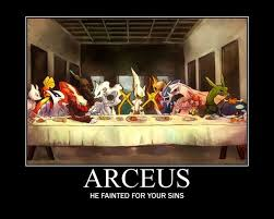 Arceus Meme - great anime and geek shareables for pinterest tumblr facebook