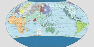 2016 Senate Map Projections by Strange New Projection Ta City Map Part 82 National Geographic
