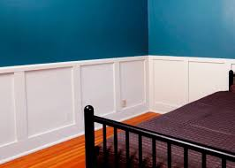 How To Decorate Tall Walls by How To Install Recessed Panel Wainscoting How Tos Diy