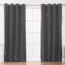 Polka Dot Curtains Gray And Silver Polka Dot Curtains Drapes You Ll Wayfair