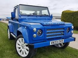 used land rover defender used 2003 land rover defender 90 90 pick up td5 for sale in
