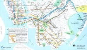 mta map subway york jersey subway map