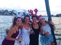 christmas party cruise rockfish catamarans