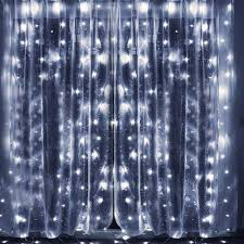 cool white icicle lights bjour bggd 31 18w curtain icicle lights string fairy light cool