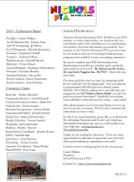 image result for pta introduction newsletter fun pac