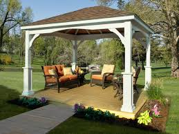 outdoor pavilion plans that offer a pleasant relaxing time at your