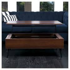 Lift Top Coffee Tables Elliot Wood Lift Top Storage Coffee Table Christopher Knight