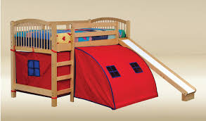 Privacy Pop Up Bed Tent Bunk Bed Slide Amazoncom Coaster Bunk Bed With Slide And Tent