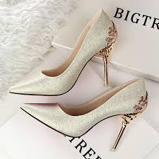 wedding shoes malaysia bigtree autumn scrub women pumps 10 cm high heels