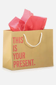 present tissue paper stuff it gift bag medium with tissue paper