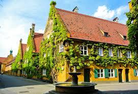 Haus Deutschland Fotos Von Bayern Deutschland Springbrunnen Augsburg Stadtstraße