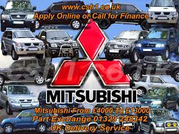 used mitsubishi shogun sport equippe for sale motors co uk
