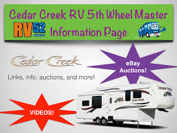 cedar creek fifth wheels