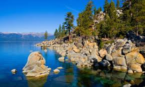 tahoe california lakes rivers waterfalls alltrips