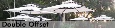Backyard Umbrellas Large - offset patio umbrellas large outdoor commercial patio umbrellas