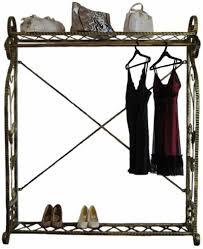 Boutique Clothing Rack Elegant Garment Rack Display Store Rack