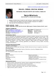 Sample Of Modern Resume by Outstanding Sample Of Personal Information In Resume 78 On Modern