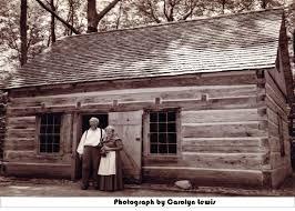 the hessler log house