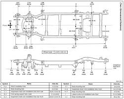 Ford F150 Truck Dimensions - 2001 4r frame dimensions toyota 4runner forum largest 4runner